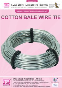 Loops of Bale Wire Tie