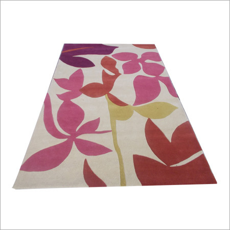 Multi Colored Handloom Carpet