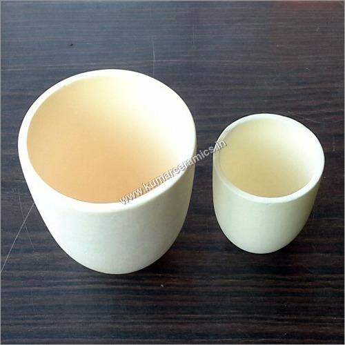 Ceramic Alumina Crucibles Tall Form