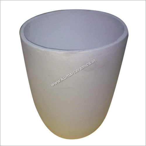 Refractory Mullite Crucibles Tall Form