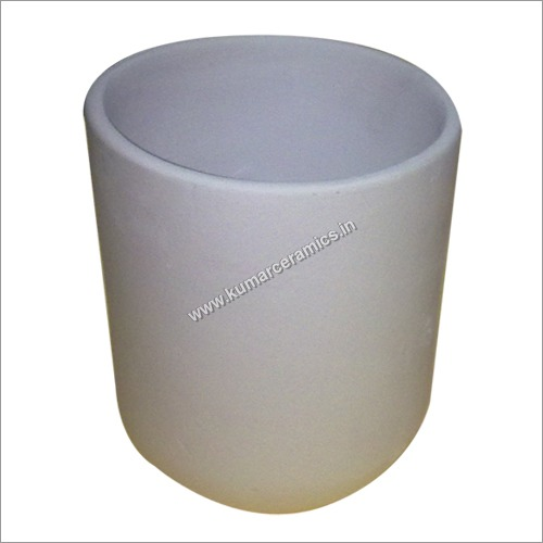 Refractory Mullite Crucibles in Cylindrical Shape