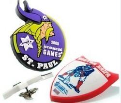 Soft PVC Badges