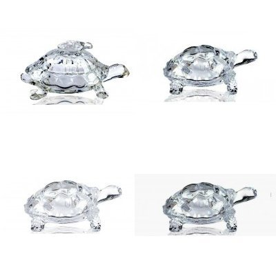 Peace n Luck Glass Tortoise
