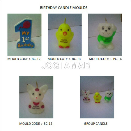Shaped Candle Molds