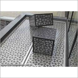 Jaali Pattern CNC Laser Cutting