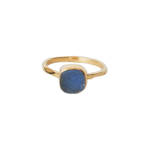 Druzy Gemstone Ring