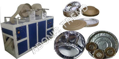Automatic Double Die Thali Making Machine