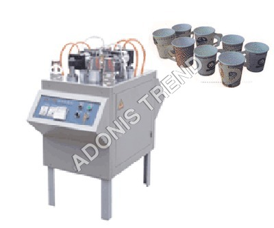 Paper Cup Forming Handle Machine