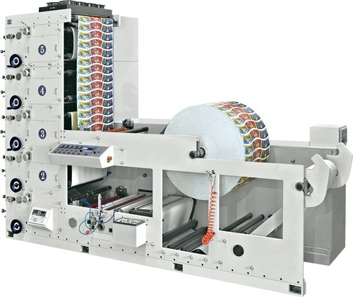 FULL-AUTOMATIC FLEXIBLE PRINTING MACHINE