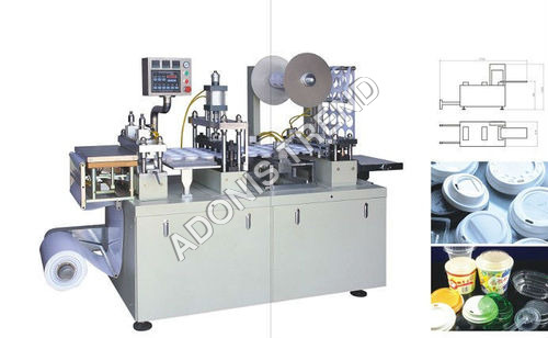 Paper Cup Lid Forming Machine