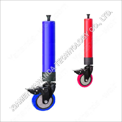 Legs with Universal Braked Wheels