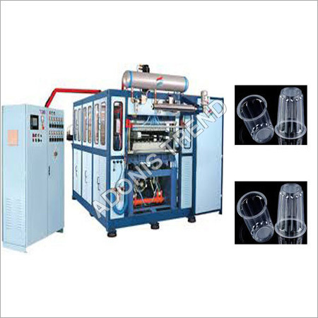 PLASTIC GLASS MAKING AUTOMATIC MACHINE