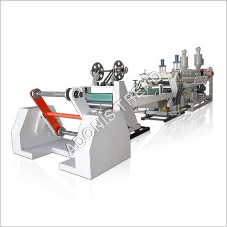 SINGLE LAYER PP/PS SHEET EXTRUDER