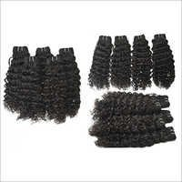 Machined Weft Hair