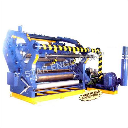 Fingerless Double Profile Corrugating Machine
