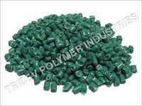 Green Plastic Granules