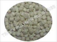 White Plastic Granules