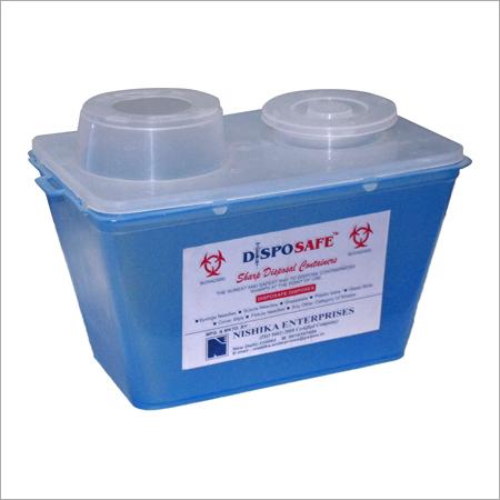 Biohazard Sharps Container