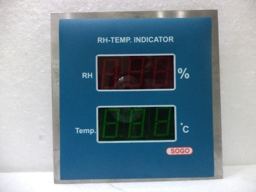 RH - cum - Temperature Indicator