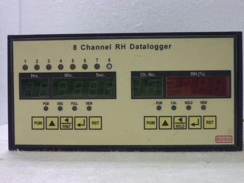 8 Channel RH Dataloger