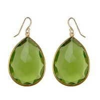 Peridot Gemstone Earring