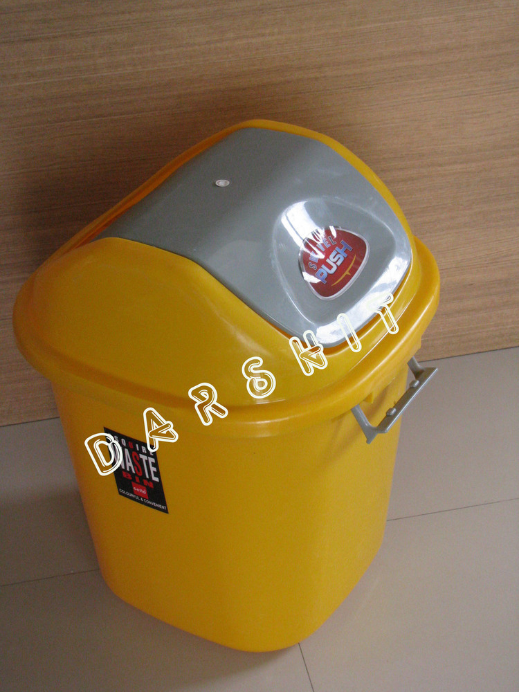 Waste Bin with Flap Lid