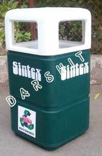 Sintex Square Litter Bins