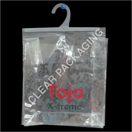 PVC Plastic Hanger Pouch