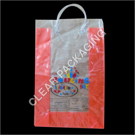 Colored PVC Plastic Pouch