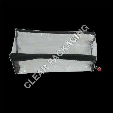 PVC Cosmetic Zipper Pouch