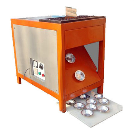 SEMI AUTOMATIC PAPER BOWL MAKING  SINGLE DIE MACHINE