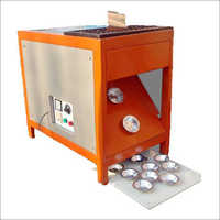 PAPER BOWL MAKING SEMI AUTOMATIC SINGLEDIE MACHINE