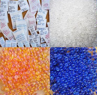 Silica Gel Moisture Control Treatment