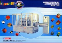 Automatic Pick Fill And Seal Machine
