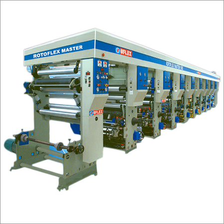 Multi Color Rotogravure Printing Machine