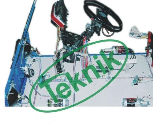 Mock Layout of Car Wiring