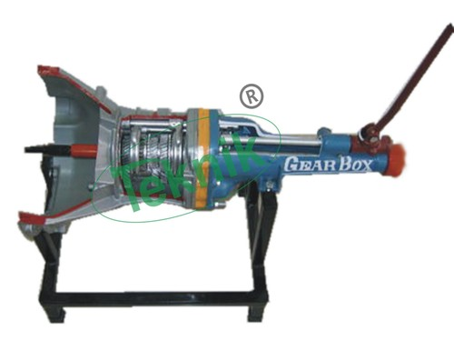 Actual Cut Section Gear Box  Model