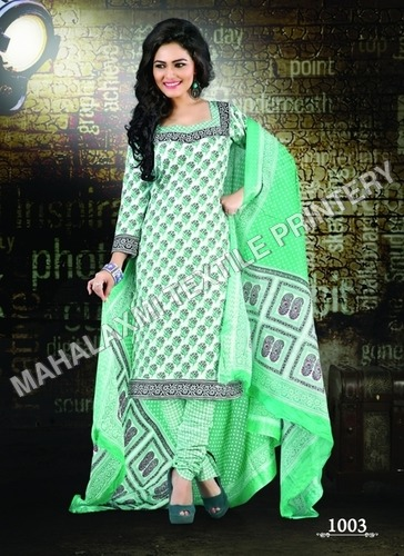 Latest Baroda Unstitched Cotton Salwar Kameez