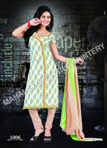 Summer Special Unstitched Cotton Salwar Suit
