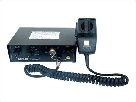 Police Siren Amplifier