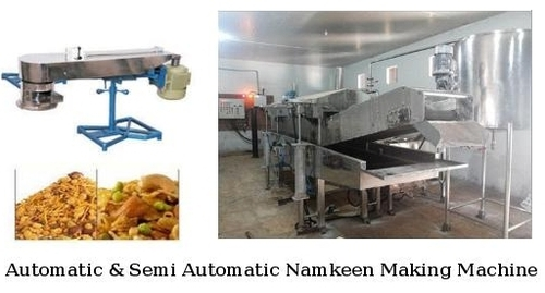 Automatic & Semi Automatic Namkeen Making Machine