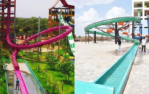 Thriller Water Slides