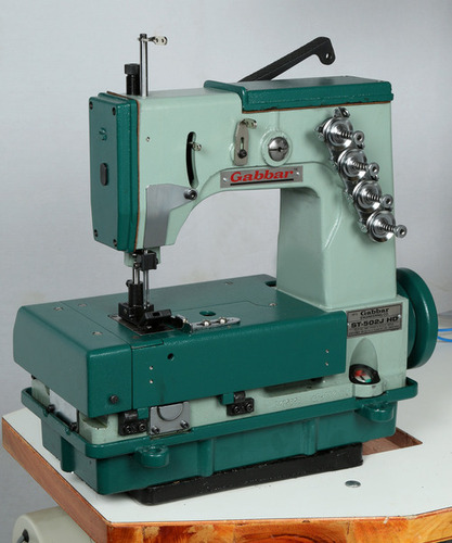Double Needle Four Thread Chain Stitch Big Bag Sewing Machine