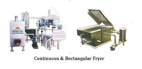 Continuous & Rectangular Fryer