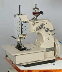Single Needle Double Thread Overedging Bag Sewing Machine