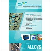 JC Pure Lead  Alloys
