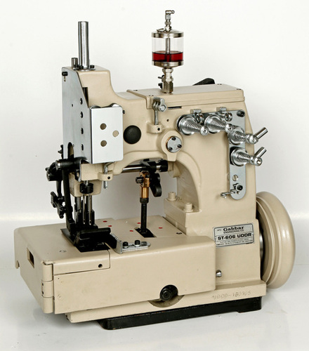 Double Needle Double Locked Chain Stitch Machine