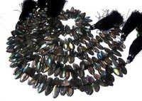 Labradorite Briolette Gemstone Beads