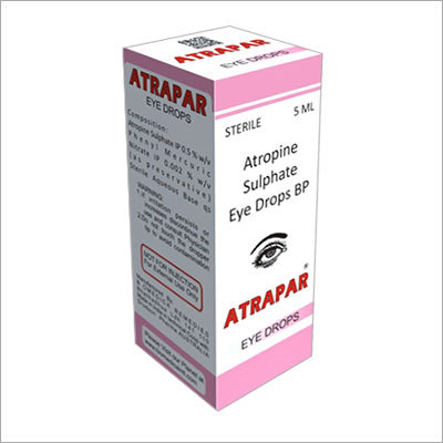 Atropine Sulphate Eye Drops BP