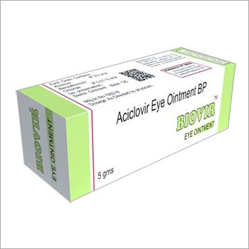 Aciclovir Eye Ointment BP